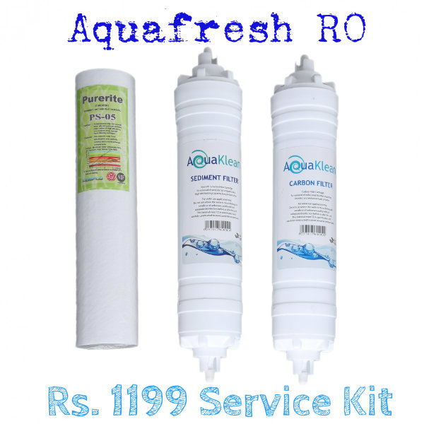 Aquafresh RO Service plan Rs.1199
